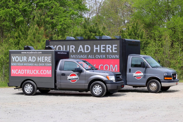 ADVERTISING IN MOTION - Mobile Digital Billboard Trucks